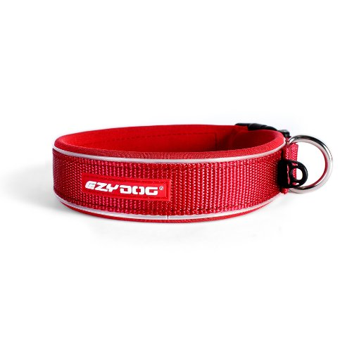 EzyDog Neo Dog Collar, Large, Red