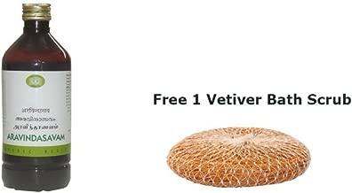 Aravindasavam by Arya Vaidya Nilayam (AVN) 450 ml + Free 1 Vetiver Scrub