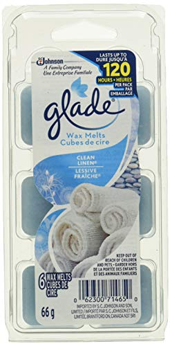 Glade Wax Melts Air Freshener Refill, Icy Evergreen Forest, 6 refills