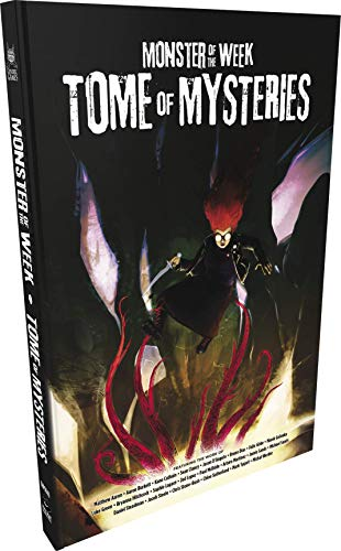Evil Hat Productions Monster of The Week: Tome of Mysteries - English