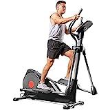 Sunny Health & Fitness Pre-Programmed Elliptical Trainer - SF-E320001, Black
