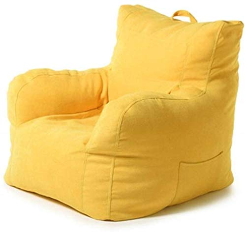 LHY- Lazy Sofa Chambre Salon Bean Bag Canapé Balcon Bean Bag Tatami Sofa Sofa Loisirs Doux (Color : Yellow)