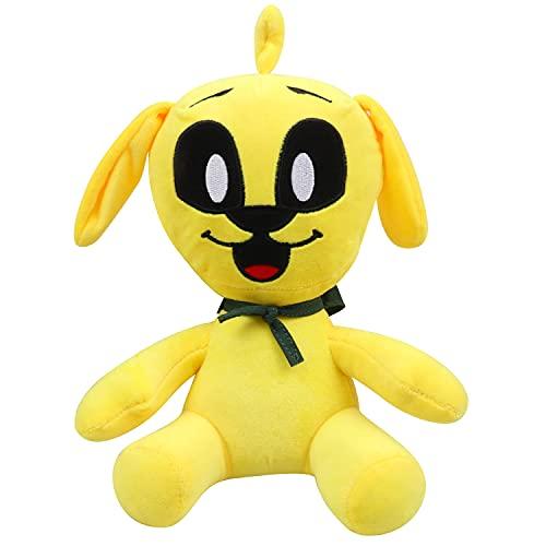 Wawogic 25Cm Mikecrack Mike-Crack Juguetes De Peluche De Dibujos Animados Lindo Animal Amarillo Perro Muñeco De Peluche Suave Animal Muñecas Juguetes para Niños Regalo De Cumpleaños