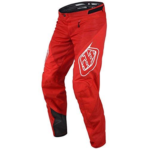 Troy Lee Designs Sprint Pant - Men's Solid Red, 28