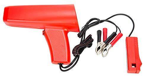 FreeTec Zündlichtpistole Zündzeitpunktpistole Stroboskoplampe Zündzeitpunk Zündung 12V/10W Timing Light