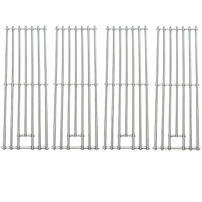 Direct store Parts DS104 (4-Pack) Solid Stainless Steel Cooking grids Replacement Kenmore, Brinkmann, Kmart, Saturn Gas Grill