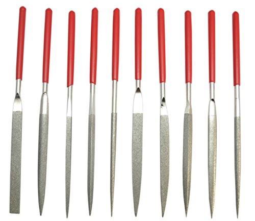 Grobet USA Diamond Needle File by Grobet Set of 10 Assorted