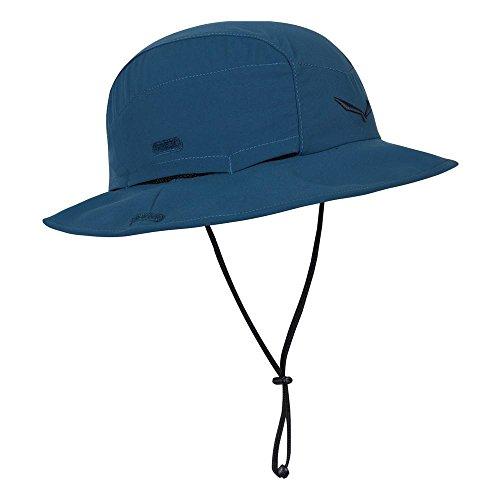 SALEWA Erwachsene Sun Protect Brimmed  Hüte, Blau (Poseidon), M/58