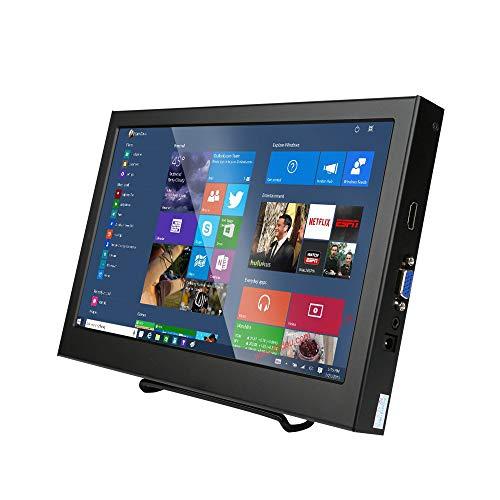 Kenowa Monitor Portatile 11.6' IPS 1080P con Ingressi HDMI, VGA, DC Alimentazione, per PS3/PS4, Xbox One, PC, Raspberry Pi,Security Camera, Nero