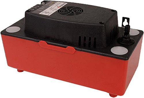 DiversiTech CP-22 HVAC Condensate Pump with 22' of Lift, 120V, Red/Black, 6 Pack