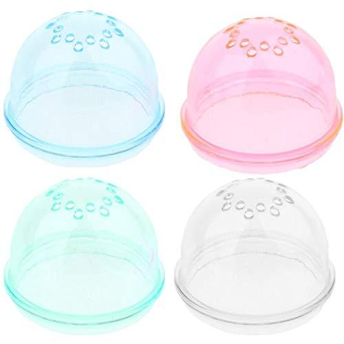 4 Unids DIY Plastic Hamster Tunnel Tubo Externo Tapón Tapón Enchufe Tapa Extremo Caga Cage Accesorios Color Aleatorio