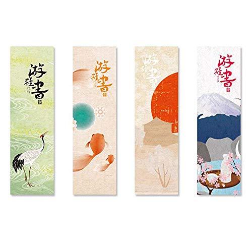 30 Pz/pacco Simpatico segnalibro di carta kawaii Stile giapponese Segni di libri vintage Design diverso Segni di pagine di libri antichi Cancelleria Fornitura regali ufficio scolastico bambini