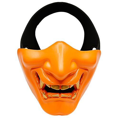 AOUTACC Airsoft Mask Halloween Costume Prop Cosplay BB Gun Paintball...