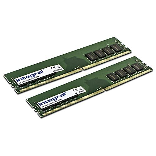 Integral Kit de 16GB (2X 8GB) de Memoria RAM DDR4 2666Mhz SDRAM Escritorio/Ordenador PC4-21333