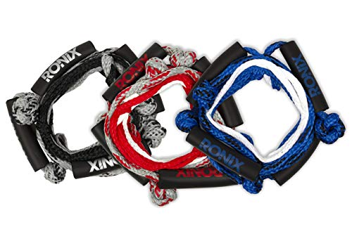 Ronix Wakesurf Rope - No Handle - 25 ft. 3-Braided Sections - Asst. Color