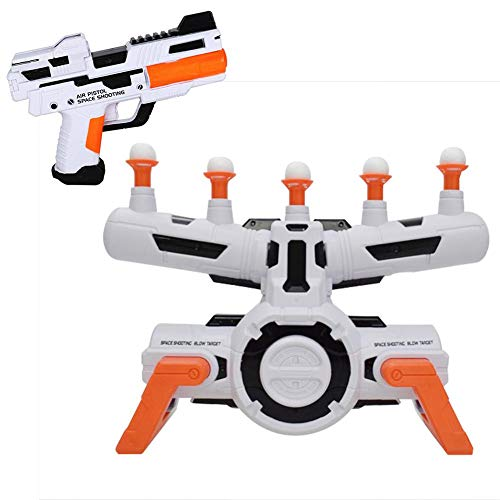 Wendysy Hover Shot Floating Target Game, Electric Shooting Set Training Toy Table Tennis Game,Foam Darts,Shooting Game Target Practice Toys,Space Guns Toy Best Gifts for Boys Girls