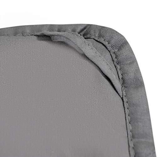 GOPLUS Gewichtsdecke Schwerkraftdecke Schwerkraft-Decke Gewichtete Schwere Decke Beschwerte Decke Schlafdecke aus Baumwolle (122X185CM, 5.5) - 4