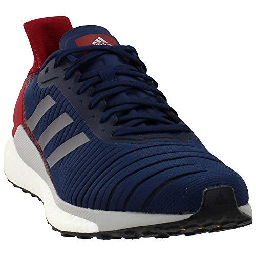 Adidas Solar Glide 19 - Zapatillas de Running para Hombre, (Azul Marino/Gris Cinco/Granate Activo), 42 EU