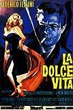 Federico Fellini-Dolce Vita, La-Italian Promo, große Film,