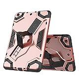 YANCAI Couverture de Cas Tablette Coque pour iPad Mini 1 2 3, TPU + PC Couvercle de Protection...