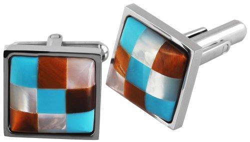 Shahafi GmbH - 009995000005 - Boutons de manchette Mixte - Acier inoxydable