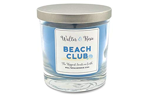 Walter & Rosie Candle Co. - Beach Club 11oz Candle - Scented Candles Inspired by Disney Scents - Smell Like Disney Resorts - The Happiest Scents on Earth - Soy Blend - Burns up to 40 Hrs