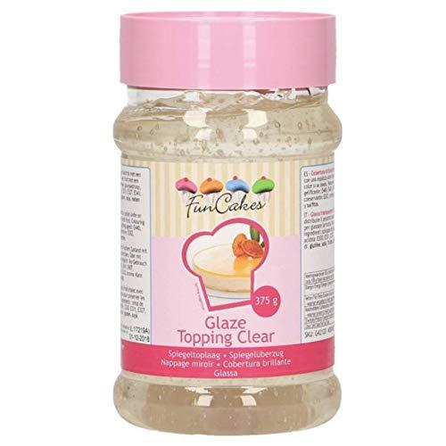 FunCakes Glaze Topping Cobertura Brillante Transparente en Gel para Tartas y Frutas,...