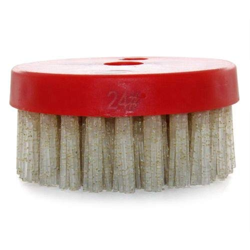 Great Features Of Xucus 10PCS/Set 4inch Diamond Abrasive Brush for antique effect leather finishing ...