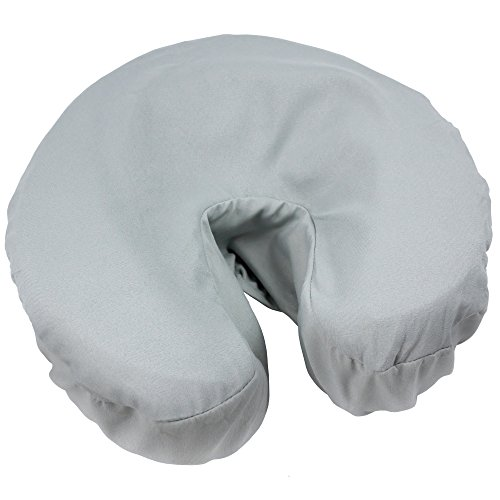 Tranquility Microfiber Massage Face Rest Covers - Single - Mirage Gray