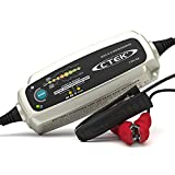 CTEK MXS 5.0 Test & Charge, Cargador Batería 12V 5A,Mantenedor De Batería, Cargador De Batería De Coche Y Camion,Probador De Batería Y Alternador Con ModoDe Reacondicionamiento Y ModoDe Copo De Nieve