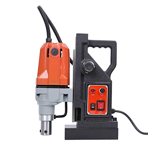 DNYSYSJ Electric Magnetic Drill 1.5' Boring 2700 LBS Dia Magnet Force Tapping Max 50mm 1100W 12000N