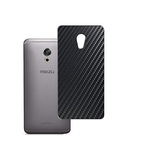 VacFun 2 Piezas Protector de pantalla Posterior, compatible con Meizu PRO 6 Plus, Película de Trasera de Fibra de carbono negra