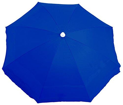 Rio Brands Deluxe Sunshade Umbrella, Blue