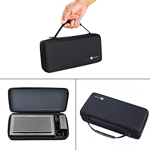 NiceCool - Funda Plegable Protectora y portátil, de Piel sintética,para Altavoz inalámbrico Bluetooth, Creative Sound Blaster Roar y Roar 2