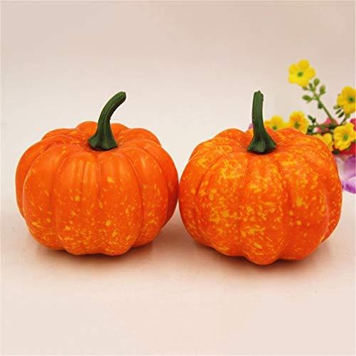 JOMSK Mini Künstliche Gefälschte Dekorative Kürbis Halloween Künstliche Lebensmittel Gemüse Für Festliche Partei Liefert Dekorationen