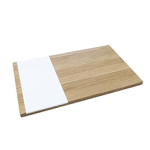 Schneidebrett pano, Doppelseitiges Design - Schneidebrett aus Holz, Holz, Natur, 50 x 30 x 2 cm