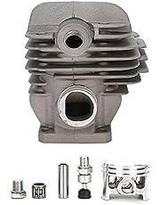 1,8 tum Zink Alloy Cylinder Piston Kit Ersättningsdelar Passar Universal Cylinder Piston Assembly för Stihl 026 MS260 026PRO Motorsåg