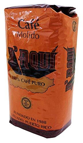 Cafe D'Aqui - Cafe de Puerto Rico (14 oz) - Puerto Rican Coffee
