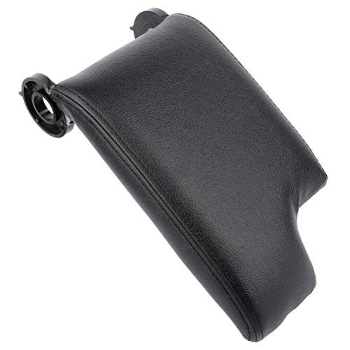 INEEDUP Black Console Armrest Lid Cover - fits for 1999-2004 For BMW E46 3 Series Center Console Cover Lid