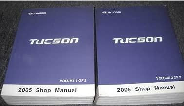 Tucson 05 2005 Hyundai Owners Owner/'s Manual Set with Case Genuine OEM
