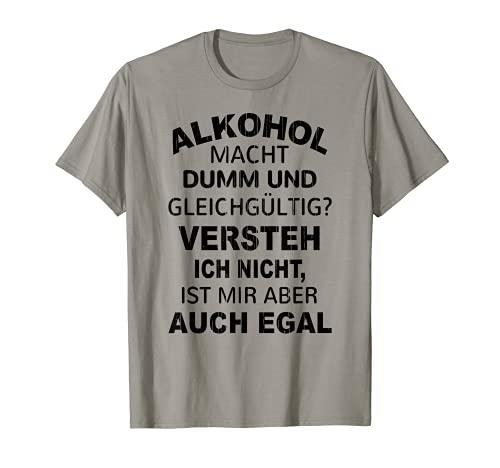 Divertidas frases de cerveza alcohólica que hace que la fiesta se saufen saufen sauf Camiseta