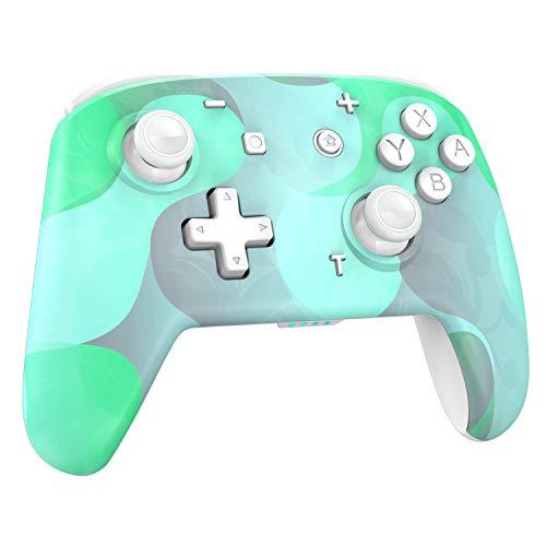 REDSTORM Mando inalámbrico, Gamepad para Nintendo Switch, Bluetooth Pro Controller para Switch Lite, Sensor de Movimiento de 6 Ejes, 3 Niveles de vibración, función Turbo, batería Recargable