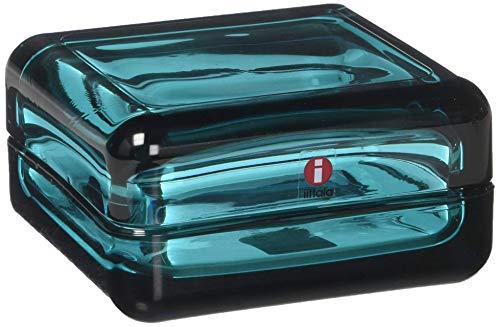 Iittala 111159 Vitriini Box, 108 x 108 mm, seeblau