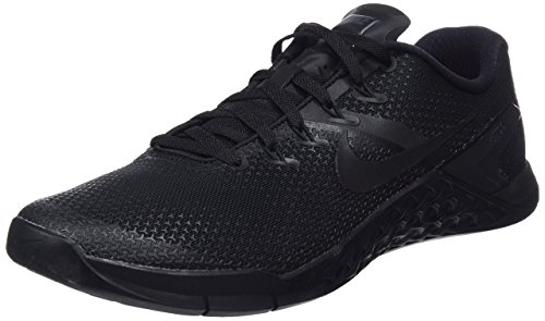 Nike Metcon 4, Zapatillas de Gimnasia para Hombre, Negro (Black/Black/Black/Hyper Crimson 001), 38.5...