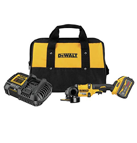 DEWALT FLEXVOLT 60V MAX Angle Grinder with Kickback Brake Kit, 4-1/2-Inch to 6-Inch (DCG418X1)