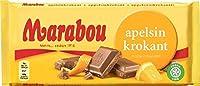 Marabou マラボウ オレンジ 板チョコレート 200g ×10枚 セット スゥエーデンのチョコレートです  [海外直送品] [並行輸入品]