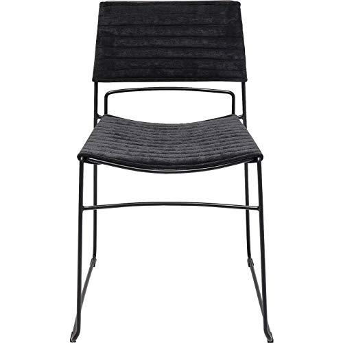 Chaise Hugo noire Kare Design