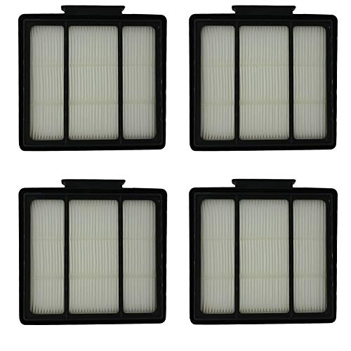 HIHEPA 4-Pack Pre-Motor HEPA Filter Replacement for Shark ION Robot RV700_N RV720_N RV850 RV851WV RV850BRN/WV Vacuum Cleaner Part Fit # RVFFK950,Also Fit Shark IQ Robot R101AE RV1001AE UR1005AE