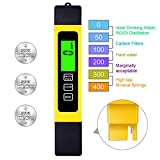 TDS Meter Digital Water Test Meter, TDS Temperature & Conductivity Meter 3 in 1,...