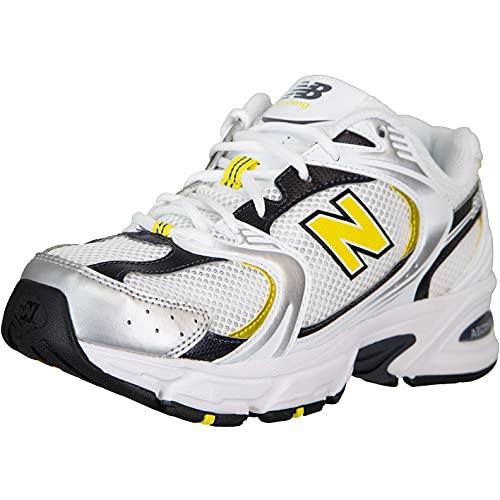 New Balance Zapatillas deportivas 530., Color blanco amarillo., 45 EU